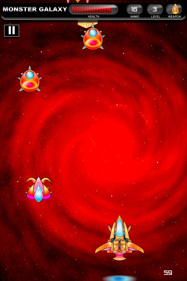 A Monster Galaxy : The Story of Space War